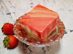 Strawberry Cream Fudge