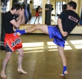 Muay Thai gym in Portland