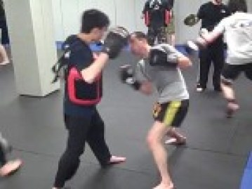 Training in a Boxing