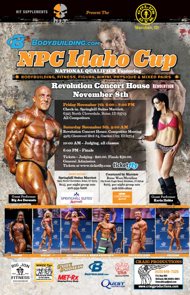 2014 N.P.C Idaho-Cup Poster