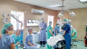 Members of Seattle Children's Hospital, Global Surgery Outreach, UW OTO Honduras
