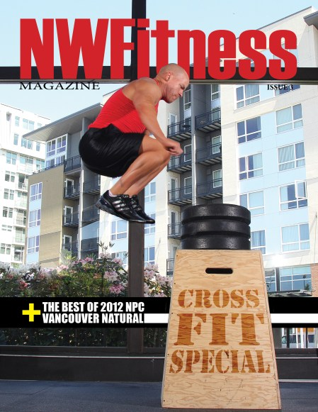 NW Fitness Magazine (Cover-Kevin Moss)