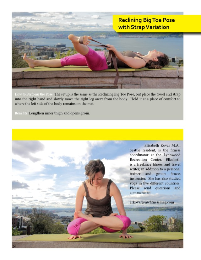 Yoga for Outdoor Sports  BY: ELIZABETH KOVAR M.A. PHOTOS: DANIEL LUPASTEAN