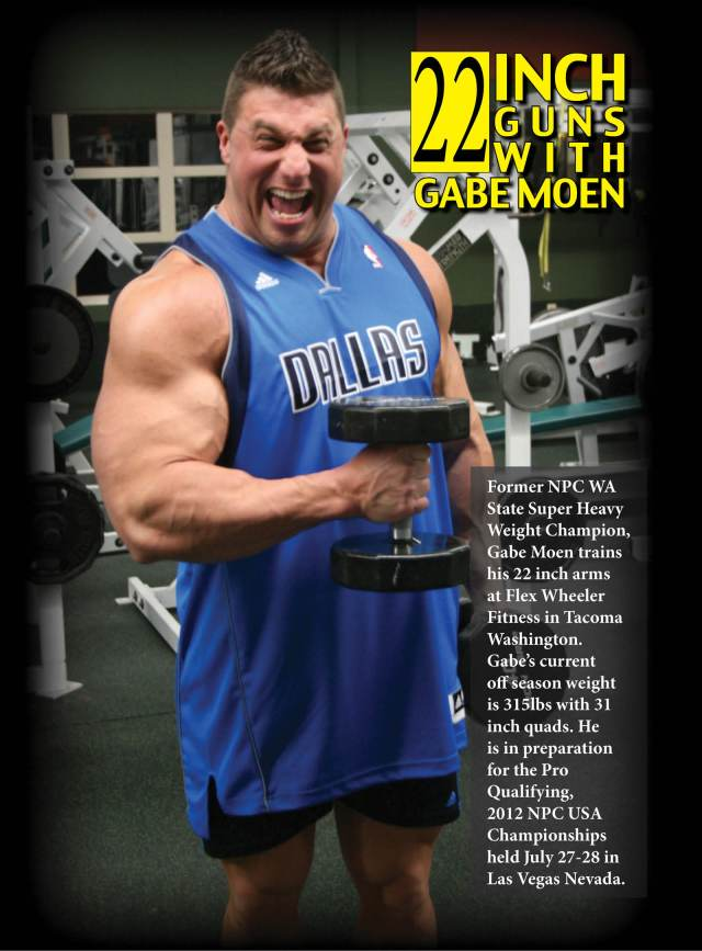 Bodybuiler-Gabe Moen- Arm Workou