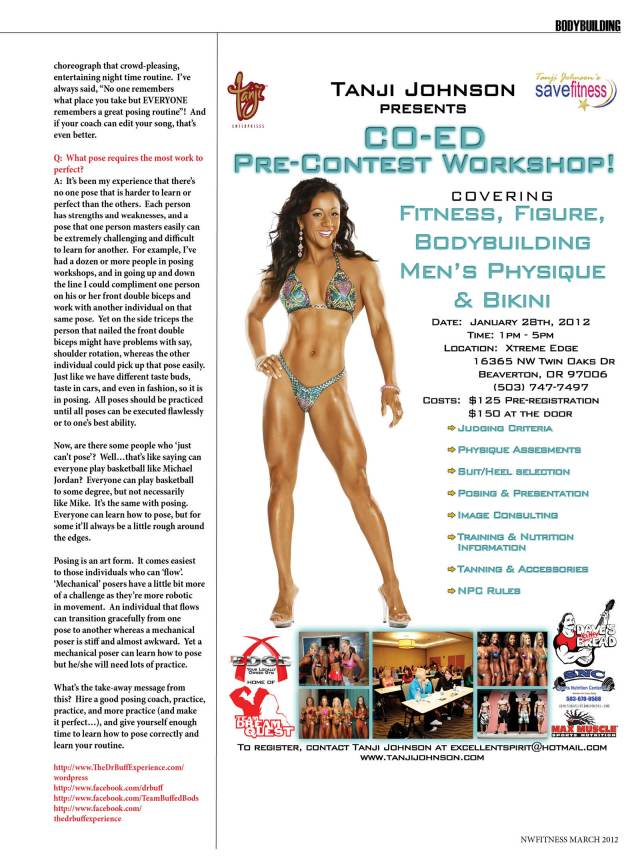 NW Fitness Magazine  Q and A with Dr. Buff  David Patterson