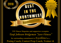 "Tanji Johnson Bridgeman ""Save Fitness"" NW Fitness Magazine Best in the NW"