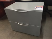 2 Drawer Gray Lateral File Cabinet 8114 | New and Used ...