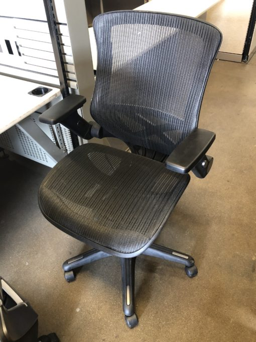 Black Mesh Bayside Task Chair  New and Used Office