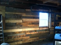 Pallet Project Wall Nwgreengirl