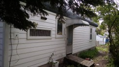 The home had an unusually modified roofline that may have allowed water intrusion.