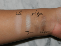 Swatches of the first row