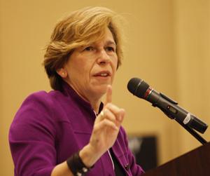 AFT president Randi Weingarten (Photo by David Young)