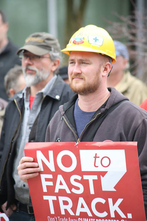 No To Fast Track