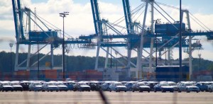 TRADE, AMERICAN-STYLE: At the Portland Terminal 6, over 2 million Hyundai vehicles have entered since 1990.