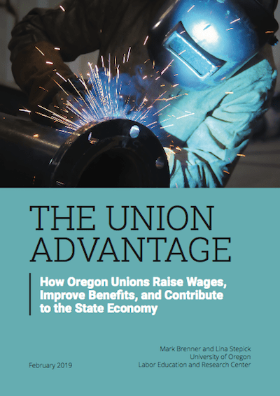 In Oregon, having a union at work means an extra $4,701 a year, and better benefits