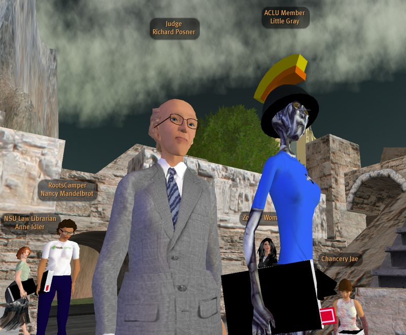 New World Notes grab of Judge Posner's Second Life lecture