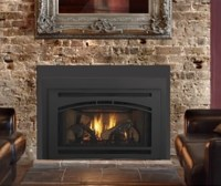 Quadra Fire Gas Fireplace Insert w/Affinity Front - NW ...