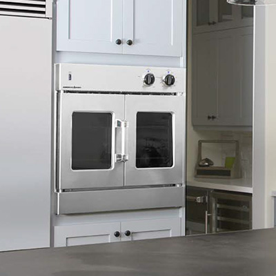 kitchen ovens trash can for american range french door wall oven nw natural appliance center