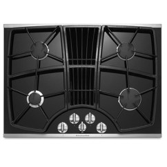 Kitchen Aid Gas Stove Metal Island Downdraft Cooktop Nw Natural Appliance Center Kitchenaid
