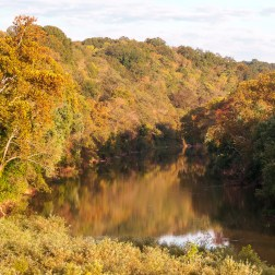 USA: Tennessee, Tennessee River Basin, seen from the Nachez Trace Parkway (NPS)