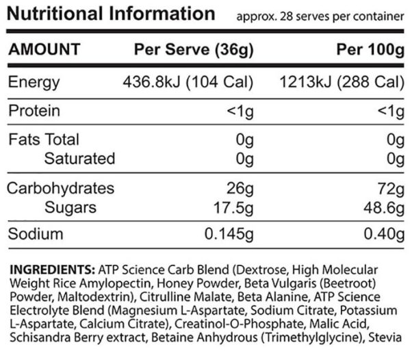 atp science infrared nutrition