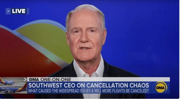Southwest Airlines CEO Says No Employees Will Be Fired Over Biden's Vaccine Mandate Image-938