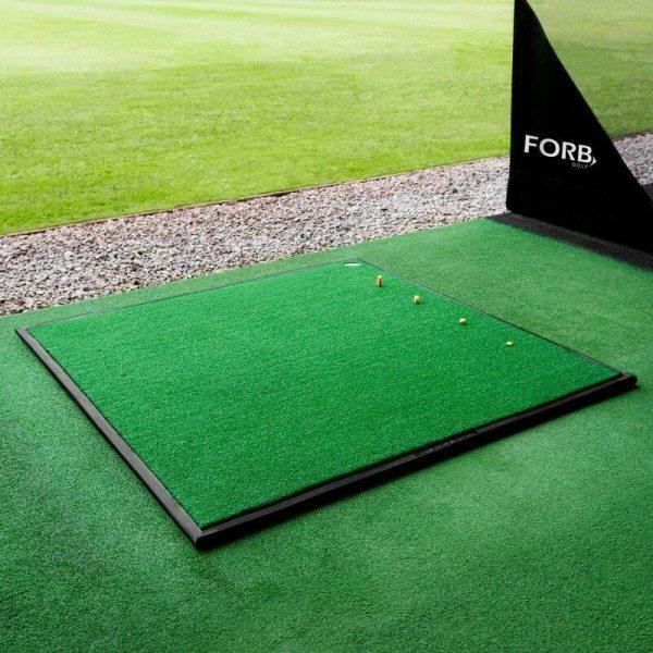 Forb Driving Range Golf Practice Mat Mats Net World Sports