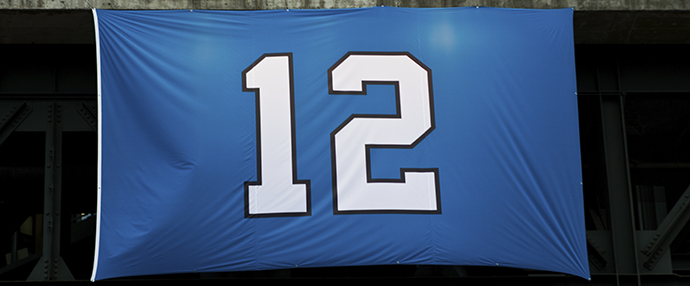 Seahawks #12 banner