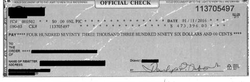 A check