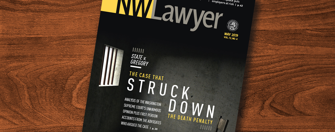 Cover of May 2019 NWLawyer
