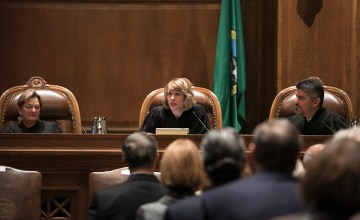 Washington Supreme Court Inauguration of Chief Justice Debra L. Stephens, Jan. 12, 2015