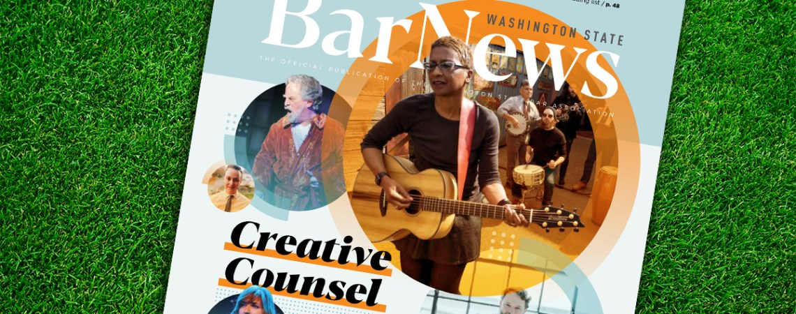 Cover of July-August Bar News