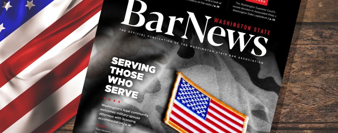 Cover of Bar News Nov 2020
