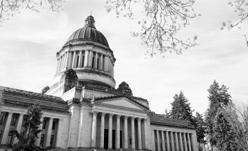 The Washington Capitol in Olympia