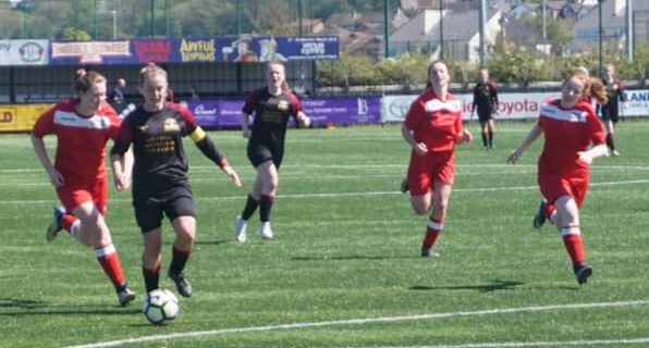 Destiny of North Wales Women's Football League Division One title still in balance