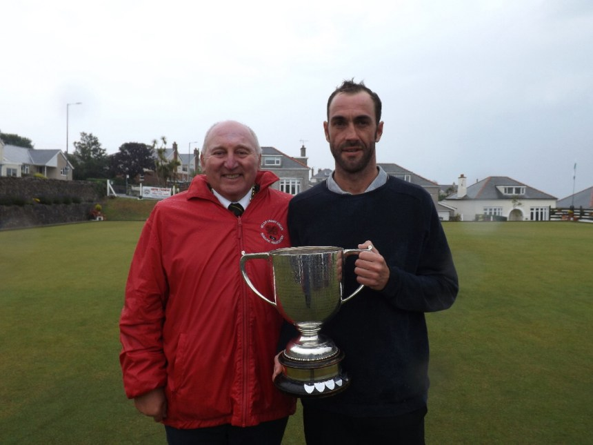 Anglesey's Geraint Booth is crowned Welsh Senior Merit bowls champion
