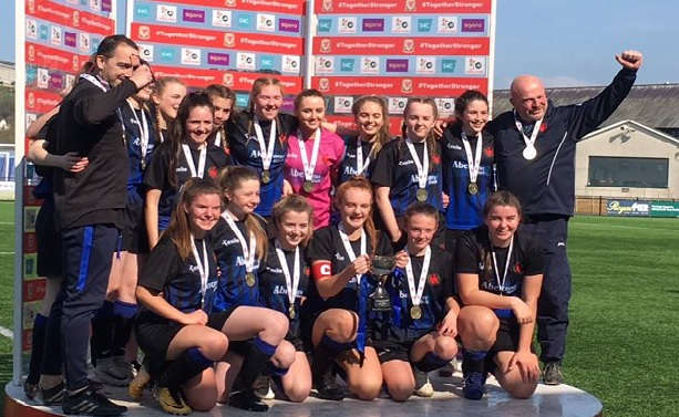 The best under-16 girls football team in Wales deserve more recognition