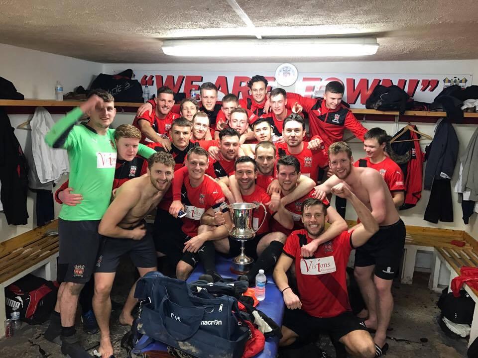 Prestatyn Town 2016-17 champions