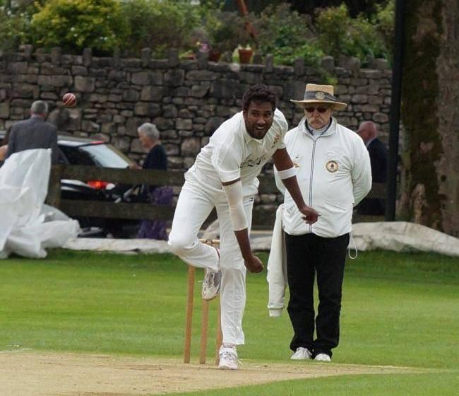 Sri Lankan ace takes nine wickets as Colwyn Bay celebrate first win