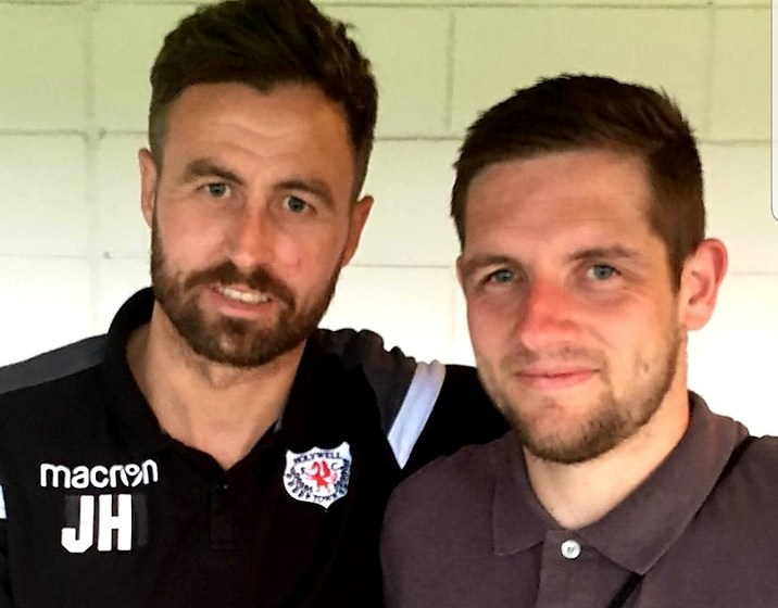 Hot news from Holywell Town – they've signed Mark Connolly!