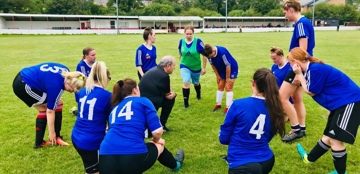 NFA women's football team would welcome more players