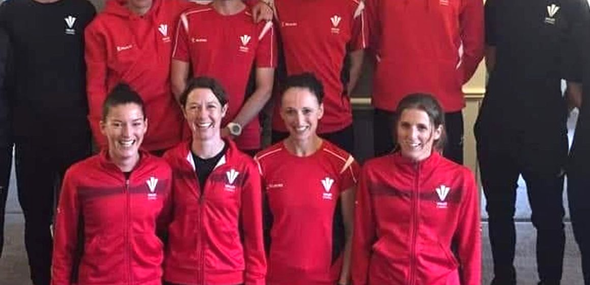 Gemma Moore represents Wales in iconic international running event