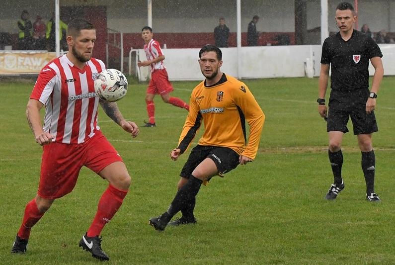 Tuesday night football: Jake Walker hat-trick ensures Denbigh Town top Welsh Alliance