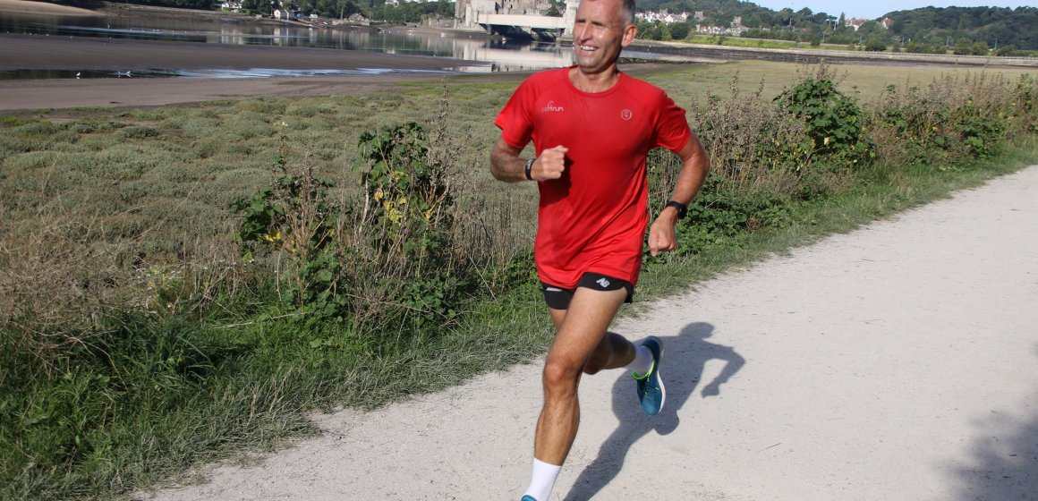 Martin Green leads way for club in Conwy Bank Holiday Parkrun