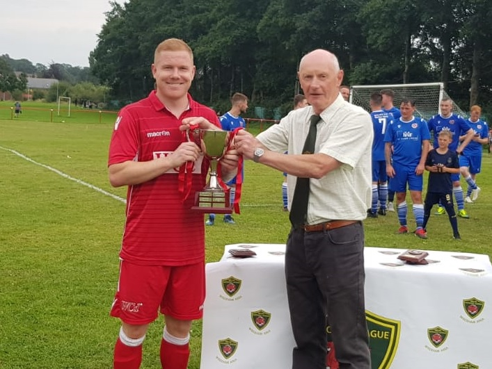 Queen's Park lift first silverware of the season