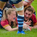 Women's rugby: RGC give Blues closer battle than score suggests