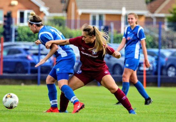 North Wales Women's Football League: 73 goals scored across eight games!
