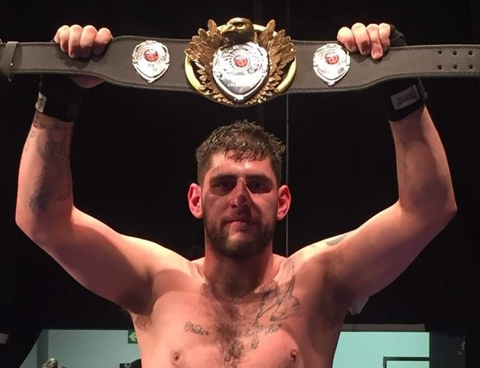 Kickboxing warrior Alan Blacks plans to end combat career with a real bang!