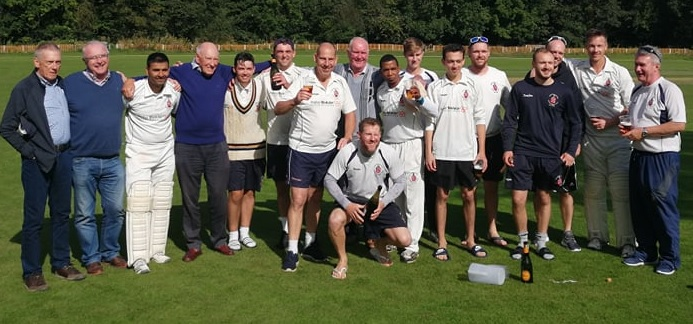 Bangor are crowned 2019 North Wales Cricket League Premier Division champions