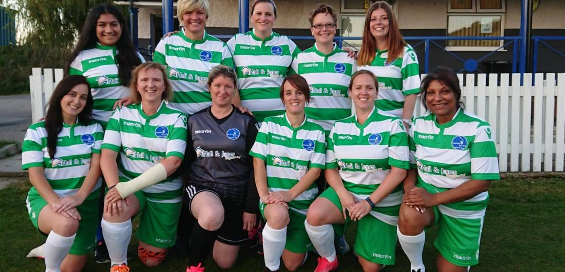 Mochdre Lionesses to represent North Wales at top football tournament celebrating diversity and inclusion
